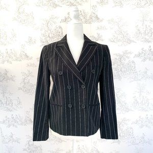 Polo Ralph Lauren Double Breasted Blazer Black 2